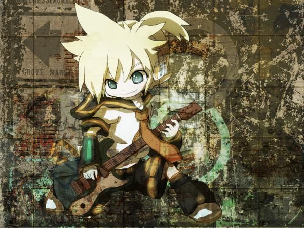 Tags: Anime, Itaru (Pixiv7894), VOCALOID, Kagamine Len, Industrial, Len Kagamine