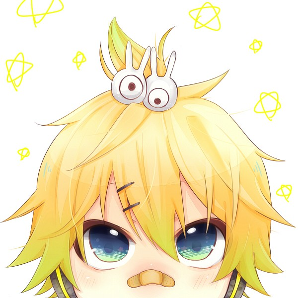 Tags: Anime, Pixiv Id 2026291, Project DIVA F, VOCALOID, Kagamine Len, Patch On The Nose, Rabbit Clip, Fanart, Project DIVA Stylish Energy, Pixiv, Len Kagamine