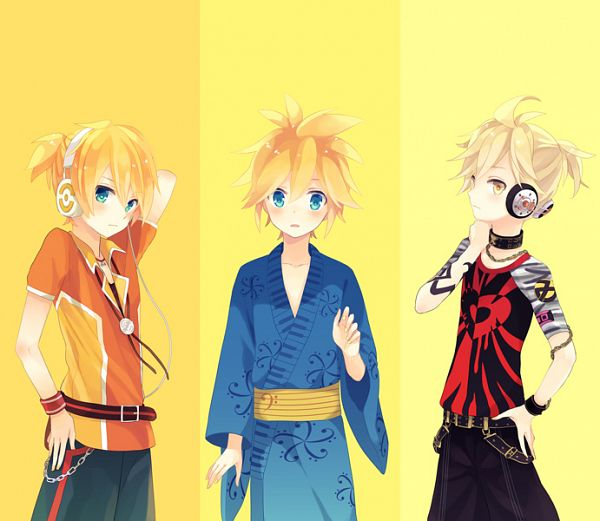 Tags: Anime, Akiyoshi, Project DIVA F, VOCALOID, Kagamine Len, Project DIVA Yukata Style, Project DIVA Starmine, Pixiv, Project DIVA Bad Boy, Fanart From Pixiv, Fanart, Len Kagamine