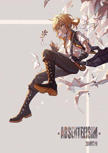 Tags: Anime, Pixiv Id 10489689, VOCALOID, Kagamine Len, Fanart, Fanart From Pixiv, Pixiv, Len Kagamine