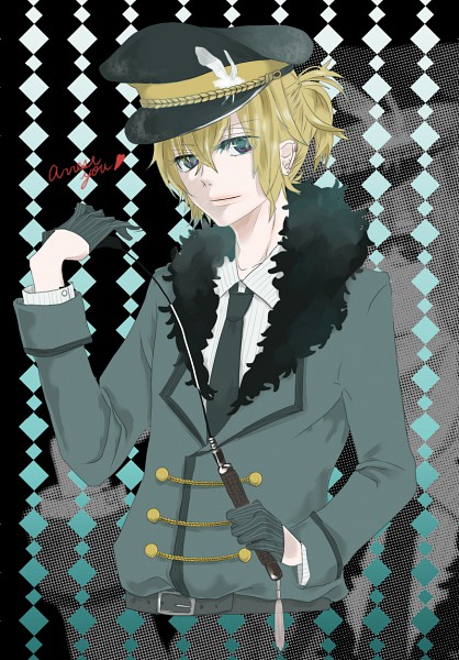Tags: Anime, VOCALOID, Kagamine Len, Riding Crop, Mobile Wallpaper, Len Kagamine