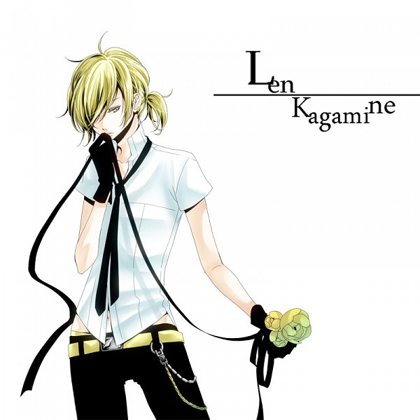 Tags: Anime, Haruma High Drop, VOCALOID, Kagamine Len, Pixiv, Len Kagamine