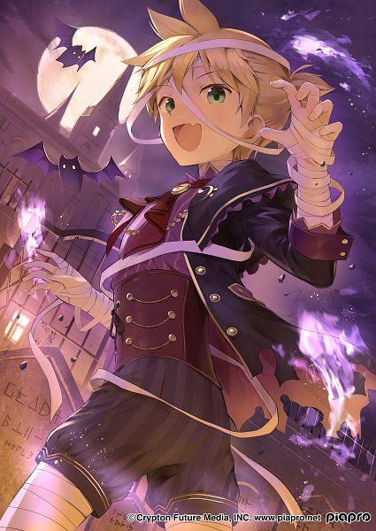 Tags: Anime, Pixiv Id 9580492, VOCALOID, Kagamine Len, Graveyard, Mummy, Len Kagamine