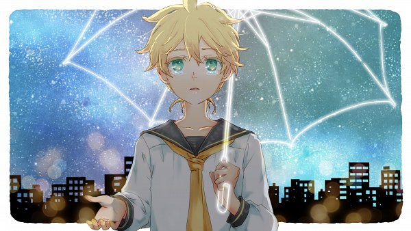 Tags: Anime, Pixiv Id 888977, VOCALOID, Kagamine Len, Fanart From Pixiv, Fanart, Pixiv, Song Request, Wallpaper, Len Kagamine