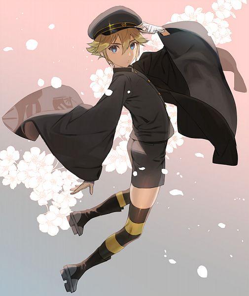 Tags: Anime, Pixiv Id 33254587, VOCALOID, Kagamine Len, Senbonzakura (Song), Len Kagamine