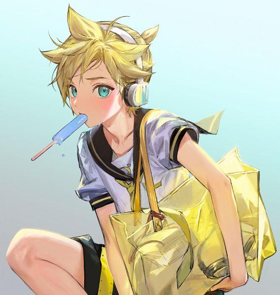 Tags: Anime, Pixiv Id 33254587, VOCALOID, Kagamine Len, Len Kagamine