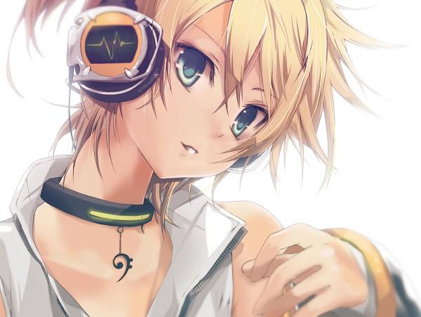 Tags: Anime, Hekicha, VOCALOID, Kagamine Len, Wallpaper, Append, Fanart, Pixiv, Len Kagamine