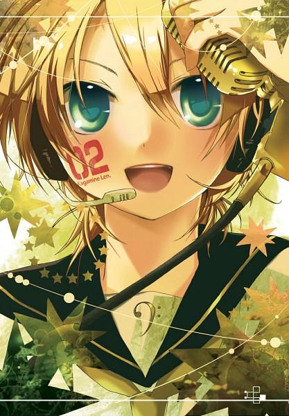 Tags: Anime, Hekicha, VOCALOID, Kagamine Len, Mobile Wallpaper, Fanart From Pixiv, Fanart, Pixiv, Len Kagamine