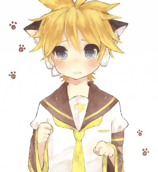 Tags: Anime, Nukoyuu, VOCALOID, Kagamine Len, Pixiv, Fanart, Len Kagamine
