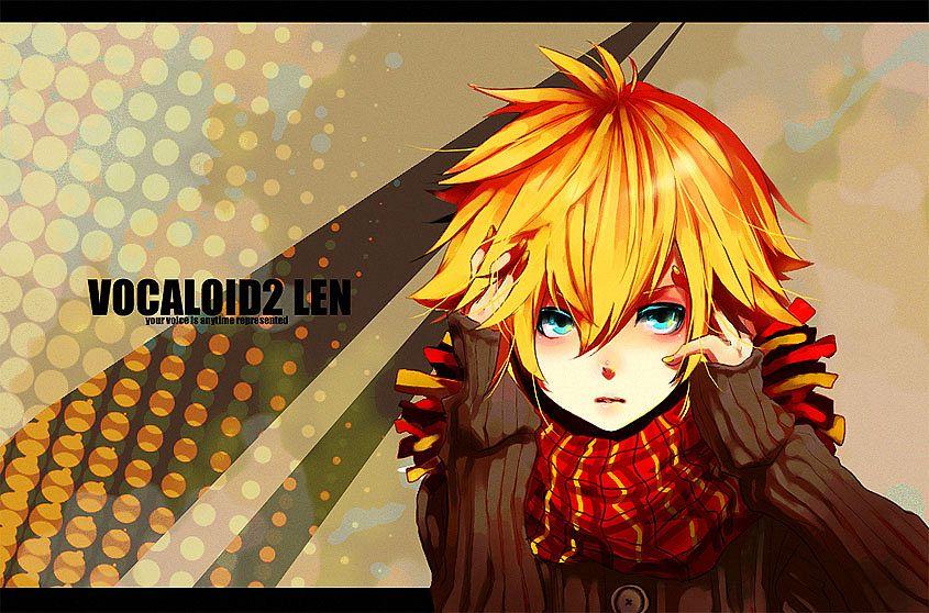 Tags: Anime, Anzu (astro75), VOCALOID, Kagamine Len, Pixiv, Fanart, Len Kagamine