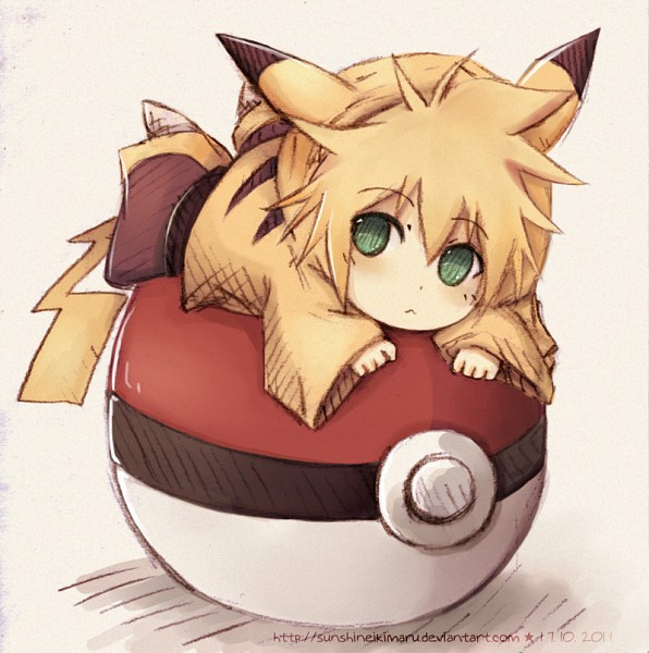 Tags: Anime, Sunny (Ikimaru), VOCALOID, Kagamine Len, Pokémon (Cosplay), Pikachu (Cosplay), Fanart, deviantART, Len Kagamine