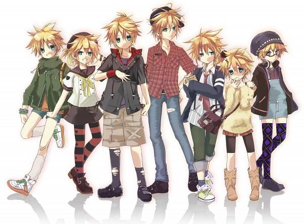 Tags: Anime, Hekicha, VOCALOID, Kagamine Len, Age Difference, Age Progression, Pixiv, Mr.Music, Fanart, Len Kagamine