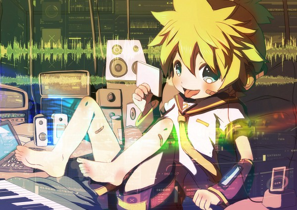 Tags: Anime, Itaru (Pixiv7894), VOCALOID, Kagamine Len, Len Kagamine
