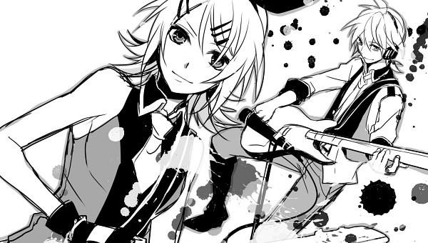 Tags: Anime, Teito, Project DIVA Extend, VOCALOID, Kagamine Len, Kagamine Rin, Fanart, Facebook Cover, Project DIVA Blue Moon, Project DIVA Black Star, Kagamine Mirrors