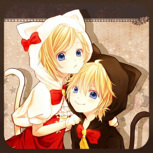 Tags: Anime, Pixiv Id 3562808, VOCALOID, Kagamine Len, Kagamine Rin, Fanart, Pixiv, Kagamine Mirrors
