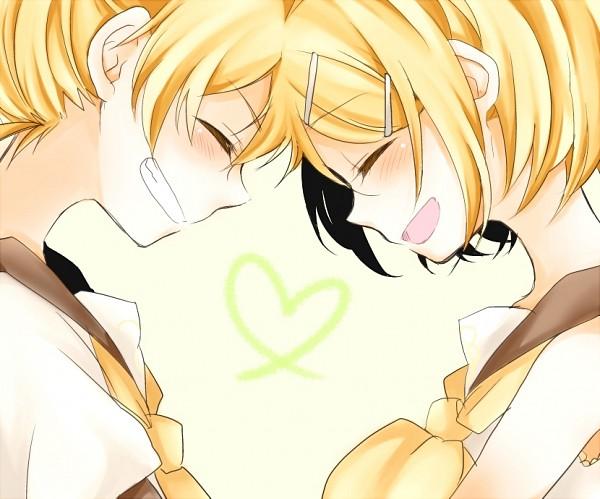 Tags: Anime, Noki (Potekoro), VOCALOID, Kagamine Rin, Kagamine Len, Kagamine Mirrors