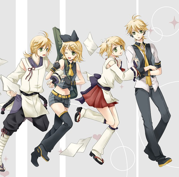 Tags: Anime, Perico, Sega, Project DIVA Extend, VOCALOID, Kagamine Rin, Kagamine Len, Project DIVA Aitetsu, Project DIVA Suou, Project DIVA Blue Moon, Project DIVA Black Star, Kagamine Mirrors