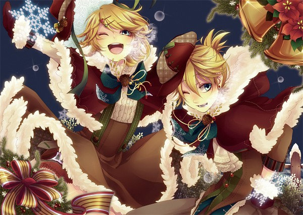 Tags: Anime, Domco, VOCALOID, Kagamine Len, Kagamine Rin, PNG Conversion, Piapro Illustrated, Kagamine Mirrors