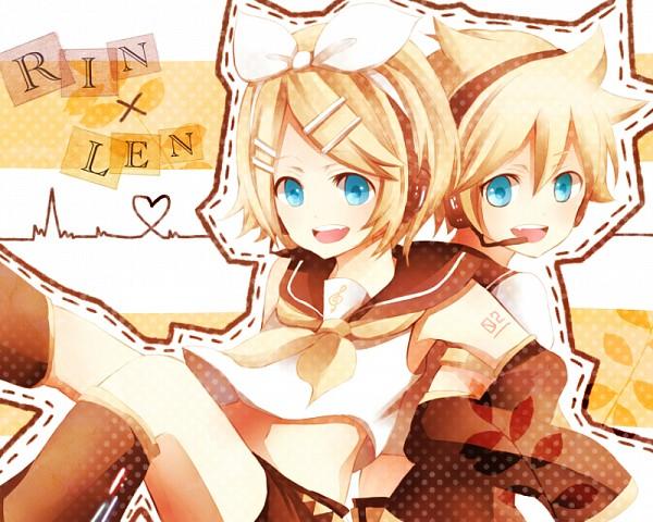 Tags: Anime, Pixiv Id 4687085, VOCALOID, Kagamine Len, Kagamine Rin, Pixiv, Fanart From Pixiv, Fanart, Kagamine Mirrors