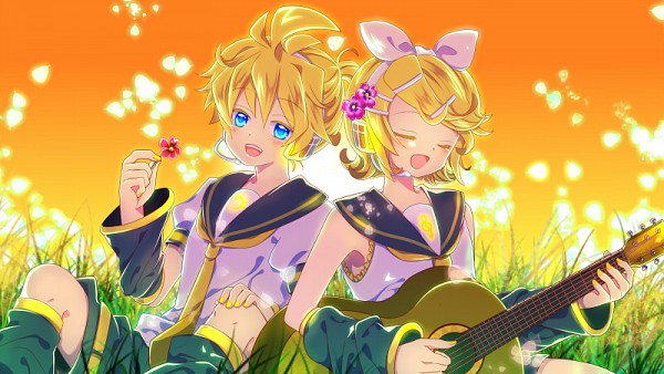 Tags: Anime, Kairi (Pixiv643162), VOCALOID, Kagamine Len, Kagamine Rin, Fanart, Pixiv, Fanart From Pixiv, Kagamine Mirrors