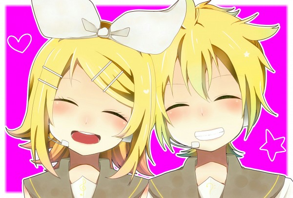 Tags: Anime, Green-paletto, VOCALOID, Kagamine Len, Kagamine Rin, Fanart From Pixiv, Fanart, Pixiv, Kagamine Mirrors