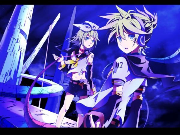 Tags: Anime, VOCALOID, Kagamine Rin, Kagamine Len, Disqualified Person, Artist Request, Kagamine Mirrors