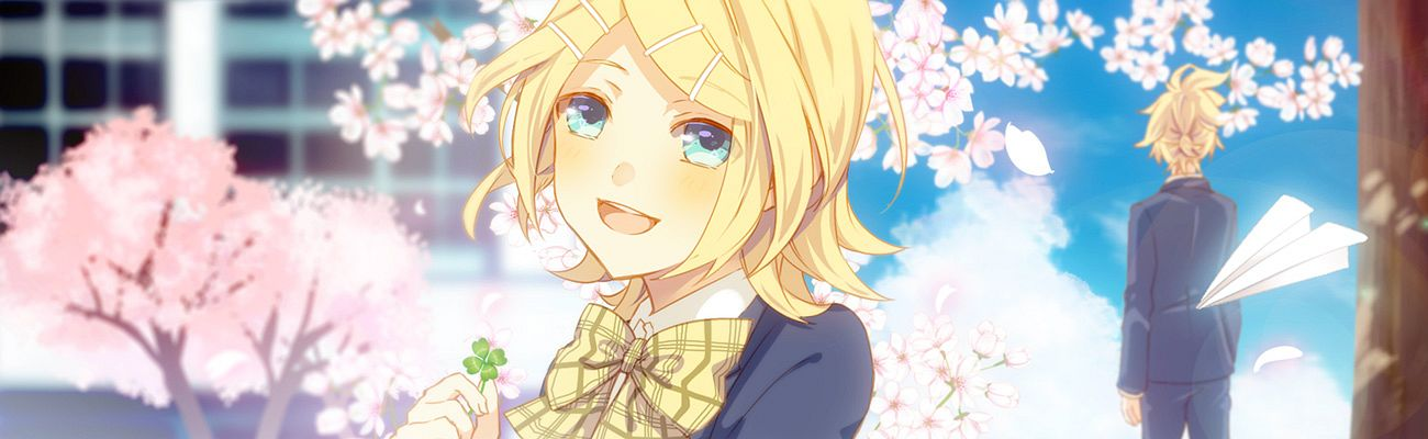 Tags: Anime, Soriku, VOCALOID, Kagamine Rin, Kagamine Len, Fanart, Pixiv, Clover (Song), Fanart From Pixiv, Kagamine Mirrors