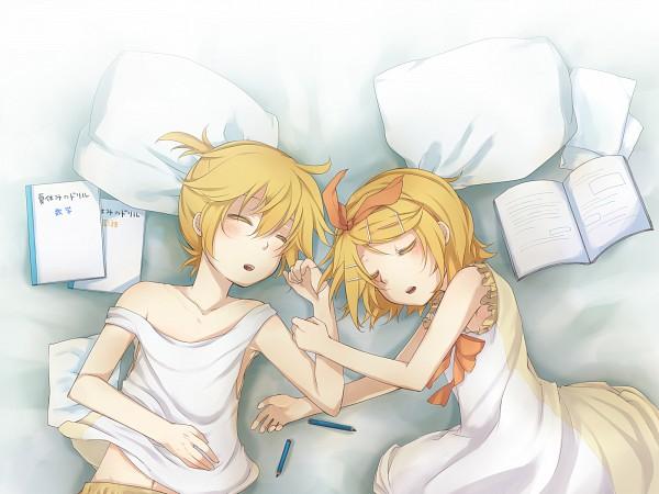 Tags: Anime, VOCALOID, Kagamine Rin, Kagamine Len, Kagamine Mirrors