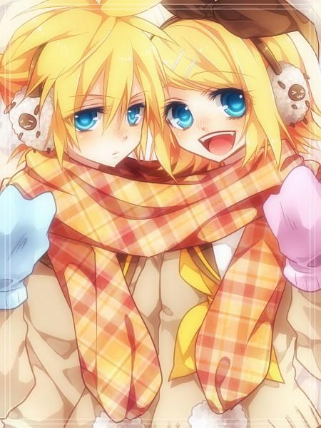 Tags: Anime, Sakuragi Mikan, VOCALOID, Kagamine Rin, Kagamine Len, Pixiv, Kagamine Mirrors