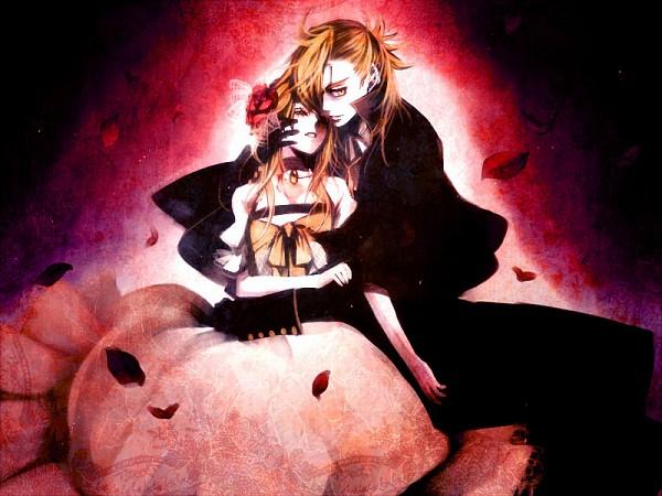 Tags: Anime, Suzunosuke, VOCALOID, Kagamine Rin, Kagamine Len, The Phantom of the Opera (Parody), Kagamine Mirrors