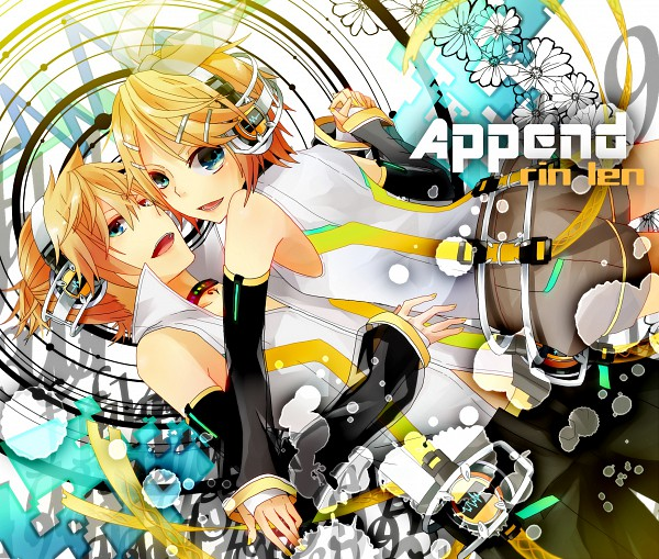 Tags: Anime, Mashiko, VOCALOID, Kagamine Len, Kagamine Rin, Append, Kagamine Mirrors