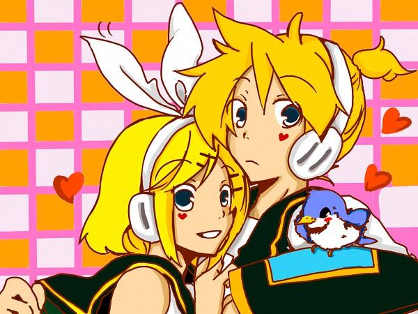 Tags: Anime, VOCALOID, Kagamine Len, Kagamine Rin, Wallpaper, Kagamine Mirrors
