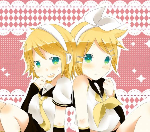 Tags: Anime, Yukinanaedo, VOCALOID, Kagamine Len, Kagamine Rin, Kagamine Mirrors