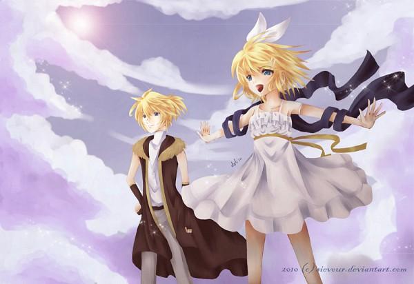 Tags: Anime, VOCALOID, Kagamine Rin, Kagamine Len, Synchronicity, Kagamine Mirrors