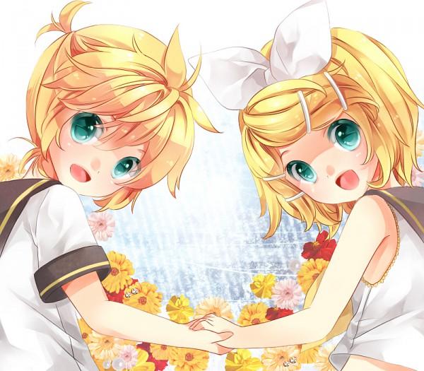 Tags: Anime, Hachimitsu (Hitorigoto), VOCALOID, Kagamine Len, Kagamine Rin, Kagamine Mirrors