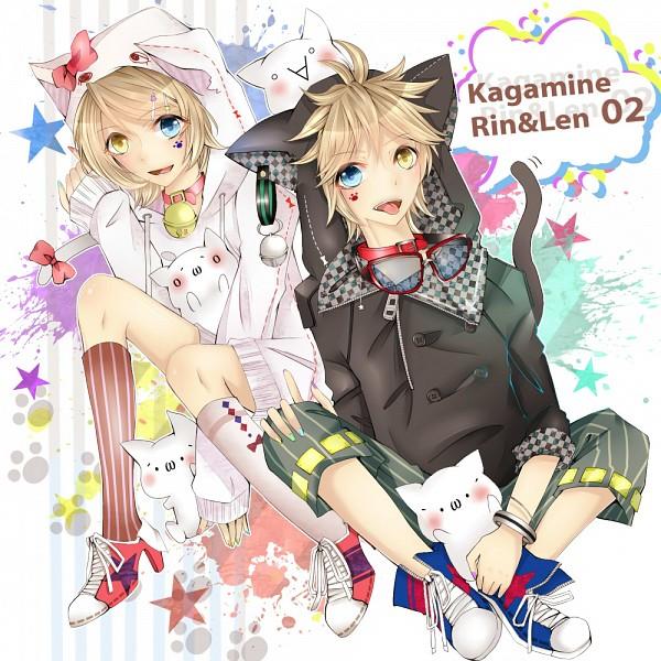 Tags: Anime, Pixiv Id 394816, VOCALOID, Kagamine Len, Kagamine Rin, Pixiv, Kagamine Mirrors