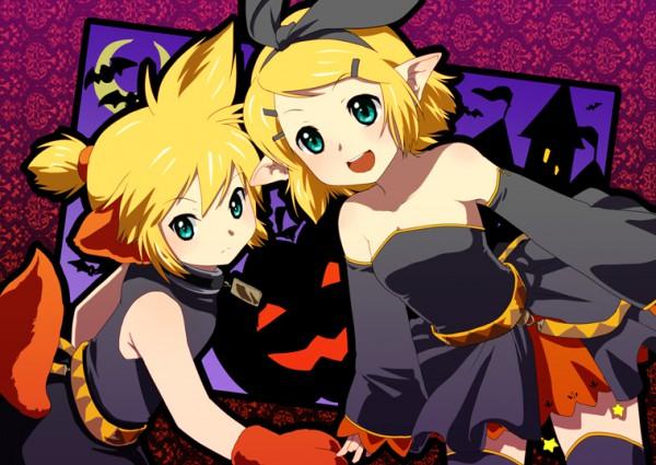 Tags: Anime, Ten (Kisako), VOCALOID, Kagamine Rin, Kagamine Len, Kagamine Mirrors