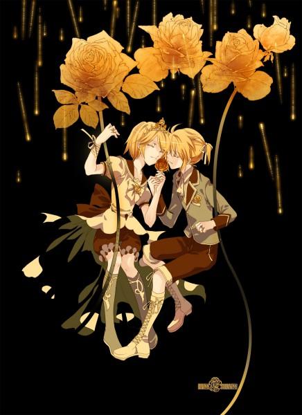 Tags: Anime, Asato (Artist), VOCALOID, Kagamine Len, Kagamine Rin, Story of Evil, Mobile Wallpaper, Kagamine Mirrors