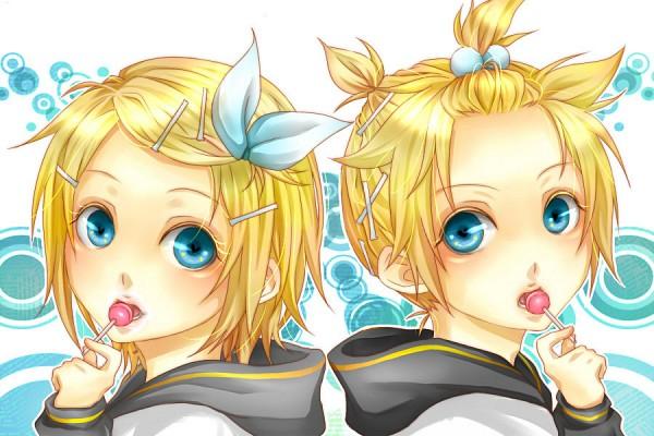Tags: Anime, Lma, VOCALOID, Kagamine Len, Kagamine Rin, Fanart, Piapro Illustrated, Fanart From Piapro, Kagamine Mirrors