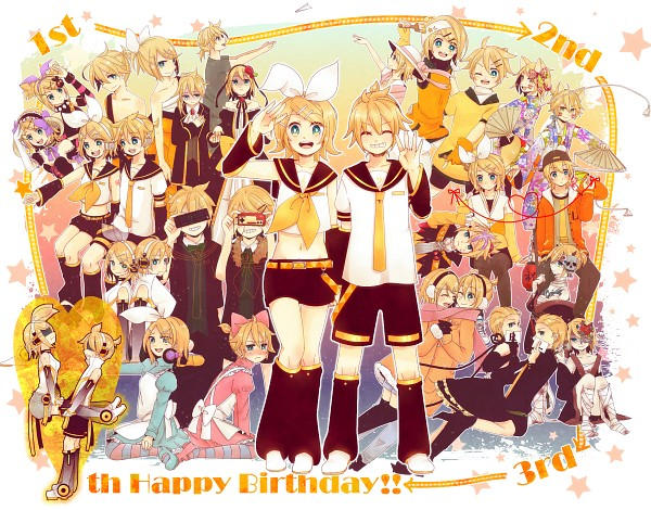 Tags: Anime, Pixiv Id 756524, VOCALOID, Kagamine Len, Kagamine Rin, Prisoner, Prisoner Series, The Way of Kagamine MADs, Juvenile, Haito Atelierista Nite, Song-Over, escapade (Song), Pixiv