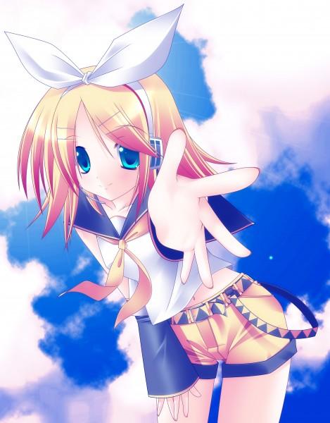 Tags: Anime, VOCALOID, Kagamine Rin, Downscale, Artist Request, Rin Kagamine
