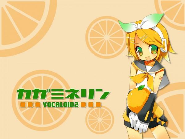 Tags: Anime, VOCALOID, Kagamine Rin, Artist Request, Wallpaper, Rin Kagamine