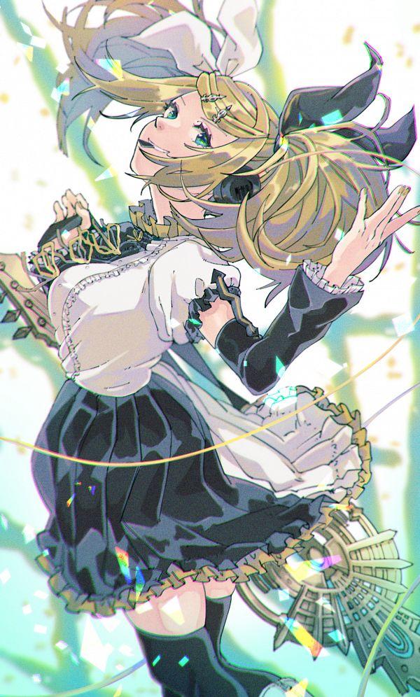 Tags: Anime, Pixiv Id 3969089, VOCALOID, Kagamine Rin, Pixiv, Fanart, Fanart From Pixiv, Rin Kagamine