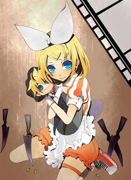 Tags: Anime, Nata / なた, VOCALOID, Kagamine Len, Kagamine Rin, Pixiv, Rin Kagamine