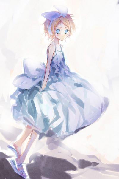 Tags: Anime, Oxiji Yen, VOCALOID, Kagamine Rin, Fanart, Pixiv, Rin Kagamine