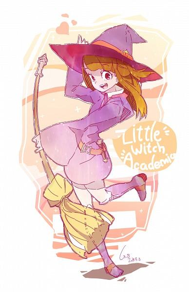 Tags: Anime, Pixiv Id 3046064, Little Witch Academia, Kagari Atsuko, Pixiv, Fanart, Fanart From Pixiv