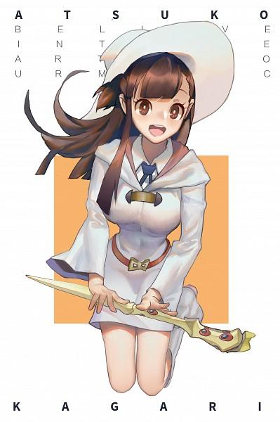 Tags: Anime, Pixiv Id 7857121, Little Witch Academia, Kagari Atsuko, Fanart From Pixiv, Pixiv, Fanart