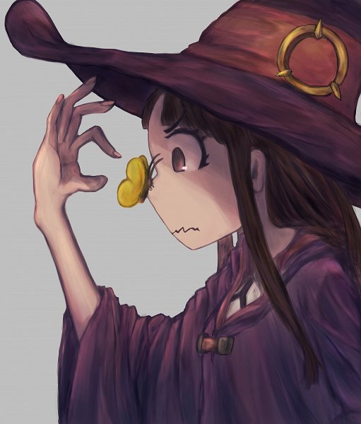 Tags: Anime, Pixiv Id 6586197, Little Witch Academia, Kagari Atsuko, Nervous, Fanart From Pixiv, Pixiv, Fanart