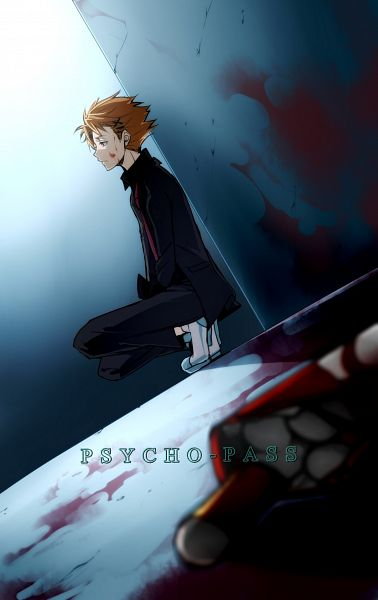 Tags: Anime, Mi-k, PSYCHO-PASS, Kagari Shuusei, Mobile Wallpaper