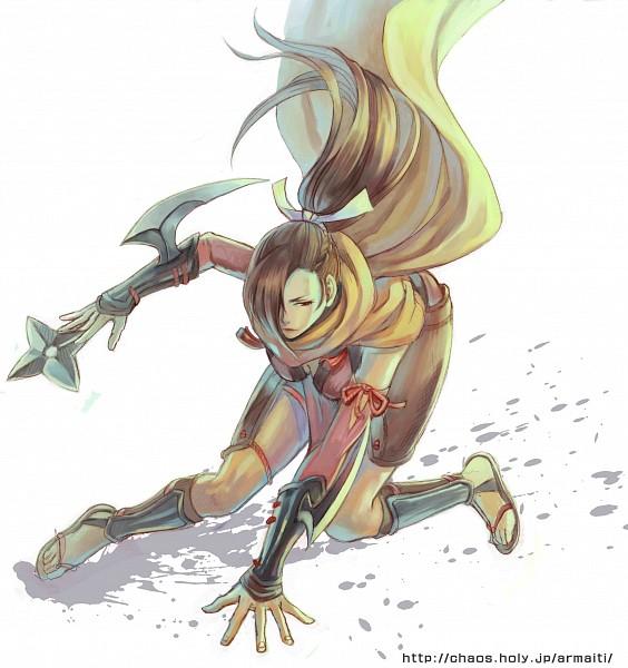 Tags: Anime, Frontier Town, Fire Emblem If, Kagerou (Fire Emblem), Shuriken, Fanart